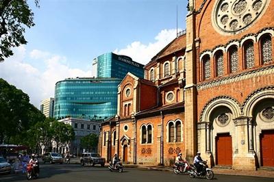 Nhà thờ Đức Bà - Tuyệt  tác kiến trúc đô thị Sài Gòn